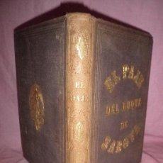 Old books - EL PAJE DEL DUQUE DE SABOYA - ALEJANDRO DUMAS - AÑO 1862 - BELLAMENTE ILUSTRADO. - 31277314