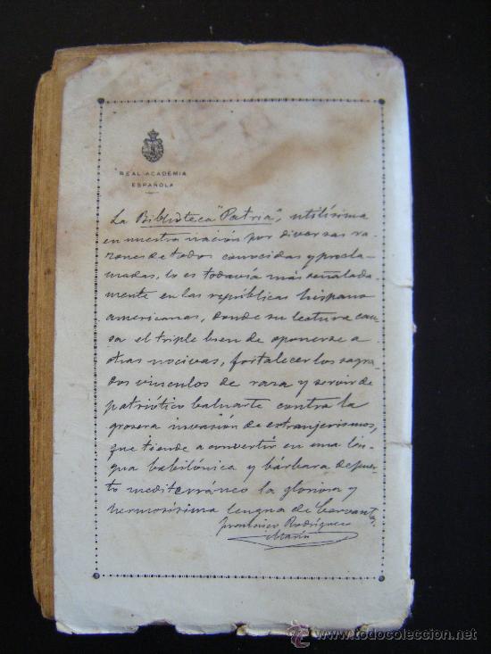 Libros antiguos: EN LOS NIDOS DE ANTAÑO. BENEDICTO TORRALBA DE DAMAS. BIBLIOTECA PATRIA DE OBRAS PREMIADAS. TOMO 267 - Foto 3 - 31408748