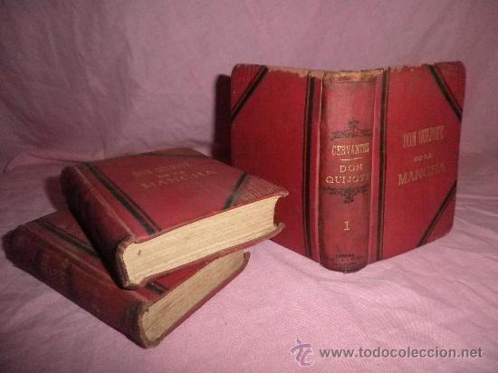DON QUIJOTE DE LA MANCHA - CERVANTES - AÑO 1831 - BELLOS GRABADOS DE EPOCA. (Libros antiguos (hasta 1936), raros y curiosos - Literatura - Narrativa - Clásicos)
