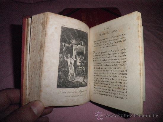 Libros antiguos: DON QUIJOTE DE LA MANCHA - CERVANTES - AÑO 1831 - BELLOS GRABADOS DE EPOCA. - Foto 5 - 31678302