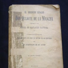 Libros antiguos: DON QUIJOTE DE LA MANCHA DE MIGUEL DE CERVANTES - EDITORIAL HERNANDO - 1925. Lote 32121468