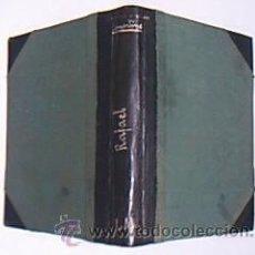 Old books - RAFAEL. Páginas de los veinte años. LAMARTINE, A. de. Colección Universal, Calpe, Madrid, 1920. - 32107608