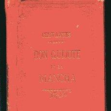 Libros antiguos: EL INGENIOSO HIDALGO DON QUIJOTE DE LA MANCHA ILUSTRACIONES PAHISSA Y SERIÑÁ 1897, PRIMERA PARTE. Lote 32131184