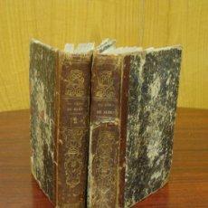 Alte Bücher - EL CURA DE ALDEA. NOVELA ORIGINAL. 1861 2 Tomos - 32157549
