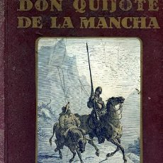 Libros antiguos: DON QUIJOTE DE LA MANCHA EPISODIOS DE SU VIDA DEDICADOS A LOS NIÑOS VOL, I CON 6 ENTREGAS. Lote 32207724