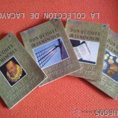 Libros antiguos: DON QUIJOTE DE LA MANCHA EN 4 TOMOS - LA VERDAD. Lote 32581925