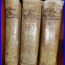 Libros antiguos: GIL BLAS DE SANTILLANA. PERGAMINO. 6 TOMOS EN 3 VOLÚMENES. SIGLO XVIII.. Lote 33101558