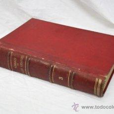 Libros antiguos: TOMO 3 ENCUADERNADO - OBRAS DE JULIO VERNE, ILUSTRADAS CON GRABADOS. FINALES DE 1800. Lote 33743896