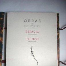 Libros antiguos: ESPACIO Y TIEMPO - JUAN RAMÓN JIMÉNEZ . Lote 34060333