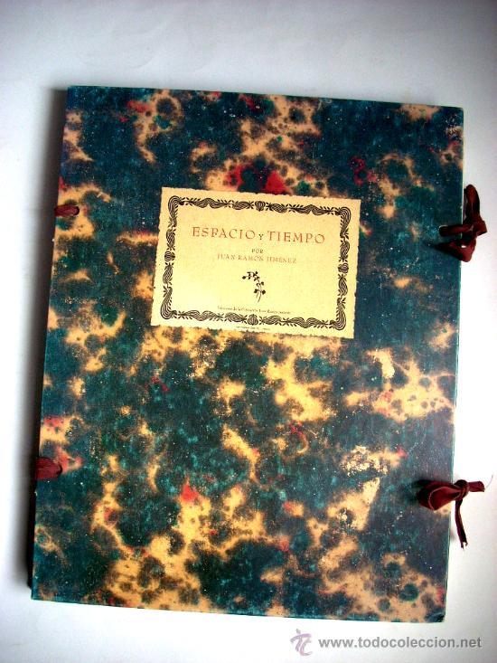 Libros antiguos: ESPACIO Y TIEMPO - JUAN RAMÓN JIMÉNEZ - Foto 2 - 34060333