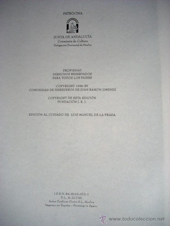 Libros antiguos: ESPACIO Y TIEMPO - JUAN RAMÓN JIMÉNEZ - Foto 5 - 34060333