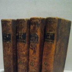 Libros antiguos: VIAGE DEL JOVEN ANARCHASIS A LA GRECIA. POR JUAN JACOBO BARTHELEMI. TOMO 2-3-6-7. MADRID 1813. . Lote 34229353