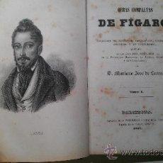Libros antiguos: 1857.OBRAS COMPLETAS DE FIGARO. MARIANO JOSE LARRA TOMO I. . Lote 34487212