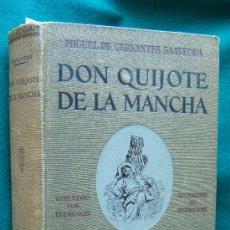 Libros antiguos: DON QUIJOTE DE LA MANCHA - MIGUEL DE CERVANTES - BAUZA -253 ILUSTRACIONES Y 119 LAMINAS G. DORE-1930. Lote 34544824