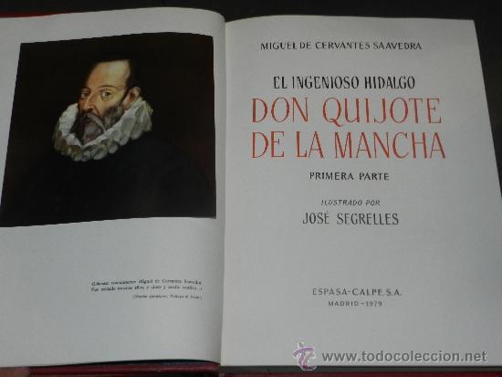 Libros antiguos: (M-2.4) DON QUIJOTE DE LA MANCHA, MIGUEL DE CERVANTES SAAVEDRA, ILUSTRADO POR JOSE SEGRELLES, 1979, - Foto 4 - 34631653