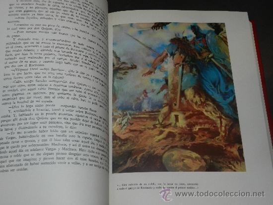 Libros antiguos: (M-2.4) DON QUIJOTE DE LA MANCHA, MIGUEL DE CERVANTES SAAVEDRA, ILUSTRADO POR JOSE SEGRELLES, 1979, - Foto 5 - 34631653