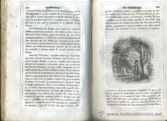 Libros antiguos: FENELON : AVENTURAS DE TELÉMACO SEGUIDAS DE LAS DE ARISTONOO (VALENCIA, 1843) ABUNDANTES GRABADOS - Foto 5 - 48213244