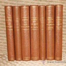Libros antiguos: 2175- LOTE DE 7 LIBROS DE SANTIAGO RUSIÑOL. EDIT ANTONIO LOPEZ. S/F.. Lote 35065836