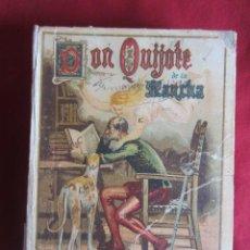 Old books - EL INGENIOSO HIDALGO DON QUIJOTE DE LA MANCHA - SATURNINO CALLEJA -1916 - 35438844