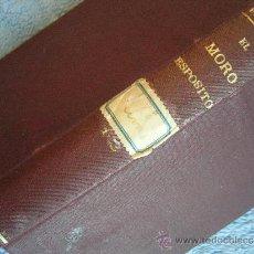 Libros antiguos: EL MORO ESPOSITO POR EL DUQUE DE RIVAS. . BIBLIOTECA UNIVERSAL EN 1901.. Lote 35445094