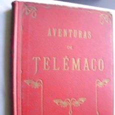 Libros antiguos: AVENTURAS DE TELÉMACO. SALIGNAC DE LA MOTHE FÉNELON, F.. Lote 35597449