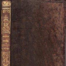 Libros antiguos: ORLANDO FURIOSO – NTRA. SRA. DE PARÍS - AÑO 1851. Lote 35620928
