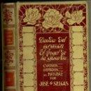 Libros antiguos: MONTANER & SIMÓN - J. SELGÁS : DEUDA DEL CORAZÓN / EL ÁNGEL DE LA GUARDA (1909) . Lote 35693790