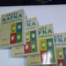 Libros antiguos: KAFKA - OBRAS COMPLETAS - 4 TOMOS - ED. EDICOMUNICACIÓN. Lote 35823604