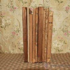 Libros antiguos: 2661- LOTE OBRAS DE SANTIAGO RUSIÑOL. 10 VOL. VER DESCRIPCION. . Lote 36087392