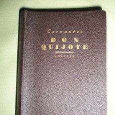 Libros antiguos: CERVANTES SAAVEDRA, M.: EL INGENIOSO HIDALGO DON QUIJOTE DE LA MANCHA. Lote 36223742