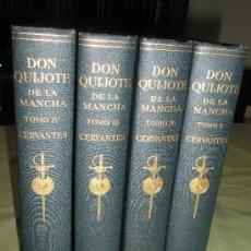 Libros antiguos: CERVANTES SAAVEDRA,M.: EL INGENIOSO HIDALGO DON QUIJOTE DE LA MANCHA. Lote 36224697