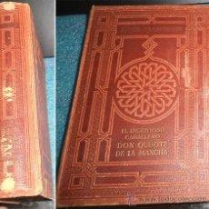 Libros antiguos: - DON QUIJOTE DE LA MANCHA 2ª PARTE. ED. JOAQUIN GIL 1ª EDICION 1.932. Lote 36376182