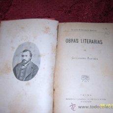 Libros antiguos: OBRAS LITERARIAS DE GUILLERMO FORTEZA.1894.TODO UNA JOYA!!!. Lote 36449701