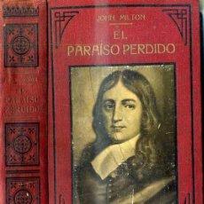 Libros antiguos: MILTON : EL PARAÍSO PERDIDO (MAUCCI, C. 1920) ILUSTRACIONES DE DORÉ. Lote 36818283