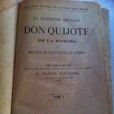 Libros antiguos: QUIJOTE DE LA MANCHA (1881). Lote 27292413