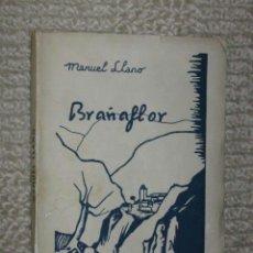Libros antiguos: BRAÑAFLOR, DE MANUEL LLANO. EDICIÓN POPULAR CON PORTADA DE QUIRÓS, SANTANDER 1931 ? RARO. Lote 37078093