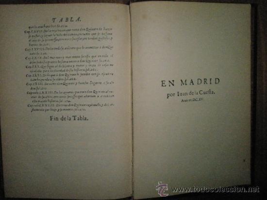Libros antiguos: Segunda parte de El Ingenioso Hidalgo Don Quijote de la Mancha. Edición facsímil de la impresa en Ma - Foto 5 - 37626985