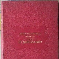 Libros antiguos: EL JUDÍO ERRANTE. EUGENIO SUE (BIBLIOTECA GRANDES NOVELAS, SOPENA AÑOS 30). Lote 37610237