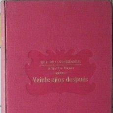 Libros antiguos: VEINTE AÑOS DESPUÉS. ALEJANDRO DUMAS (BIBLIOTECA GRANDES NOVELAS, SOPENA 1933). Lote 37610691