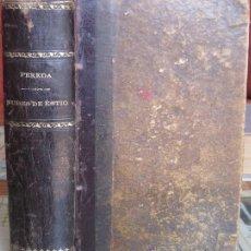 Libros antiguos: NUBES DE ESTÍO. JOSÉ MARÍA DE PEREDA 1894. Lote 37654370