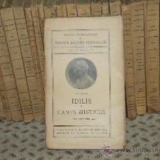 Libros antiguos: 3424- OBRES COMPLETES DE MOSSEN JACINTO VERDAGUER. EDIT. ILUSTRACIO CATALANA. S/F. 26 VOL.. Lote 37761249
