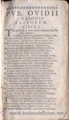 Libros antiguos: PUB. OVIDII NASONIS – AÑO 1732 - Foto 3 - 38391520