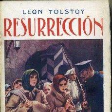 Libros antiguos: LEON TOLSTOI : RESURRECCION II (MAUCCI, C. 1920). Lote 38577776