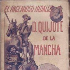 Old books - MIGUEL DE CERVANTES: EL INGENIOSO HIDALGO DON QUIJOTE DE LA MANCHA. (1905) - 38857216