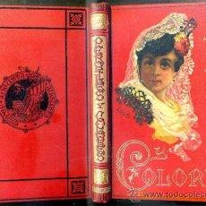 Libros antiguos: MARTÍNEZ PEDROSA : PERFILES Y COLORES (ARTE Y LETRAS, 1884) . Lote 38909666