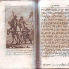 Libros antiguos: CERVANTES: EL INGENIOSO HIDALGO DON QUIJOTE DE LA MANCHA. TOMO II. BIBLIOTECA POPULAR. 1884. Lote 38896716