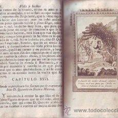 Libros antiguos: CERVANTES: VIDA Y HECHOS DEL INGENIOSO CABALLERO DON QUIXOTE DE LA MANCHA. TOMO II. 1808. Lote 38897031