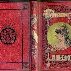 Libros antiguos: JULIO SANDEAU : ELENA DE LA SEIGLIERE (ARTE Y LETRAS) . Lote 38909529