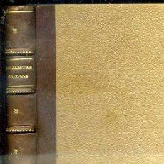 Libros antiguos: MORALISTAS GRIEGOS (HERNANDO, 1915). Lote 38958764