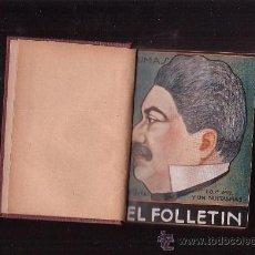 Libros antiguos: EL FOLLETIN, TOMO, DUMAS, V. HUGO, DICKENS, DOSTOIEWSKY, ALLAN POE, SIENKIEWICZ ,Nº 1 AL 6 -AÑO 1923. Lote 39005685